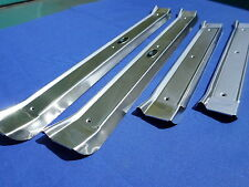 NEW 1965-70 Chevrolet Chevy Impala BelAir Biscayne Caprice Door Sill Plates 4 Dr