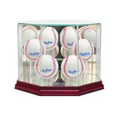 6 Ball Baseball Display Case, UV Protected, MLB, NCAA