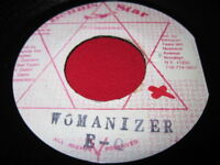 EQ WOMANIZER - DENNIS STAR - JAMAICA 45 REGGAE
