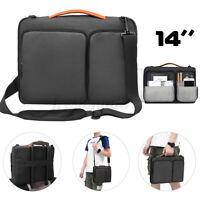 """Laptop Sleeve Case Shoulder Belt Notebook Bag For Dell Inspiron Alienware 14"""" AU"""