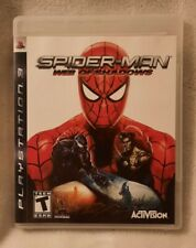 Spider-Man: Web of Shadows (Sony PlayStation 3, 2008) Tested and Working