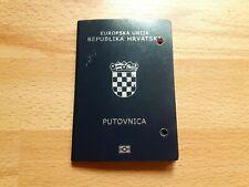 Europska Unija - Republic Of Croatia, Collectible Biometric passport - Rare