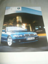 BMW 3 Series Convertible brochure 2005 ed 1 German text