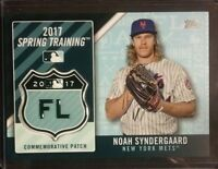 2017 Topps MLB Spring Training Commemorative Patch NOAH SYNDERGAARD