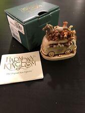 Harmony Kingdom Andrea's vw safari bus 2pcs Tjsa2 with original box