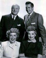 I Love Lucy Lucille Ball Desi Arnaz William Frawley Vivian Vance B/W 8x10 Photo