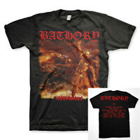 BATHORY cd cvr 1991 HAMMERHEART Official SHIRT XL New quorthon