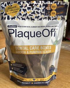 ProDen Plaque Off Dental Bones Chicken & Pumpkin 485g Dogs