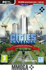 Cities: Skylines Complete Edition Key - PC STEAM Digital Download Code [DE]