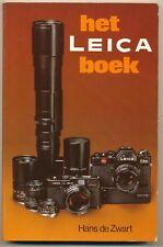 """Hans de Zwart, libro """"Het Leica boek"""" in olandese 1979, L022"""