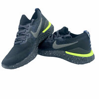 Nike Epic React Flyknit 2 SE Men's Running Shoes CI6443 001 Black Sequoia NEW