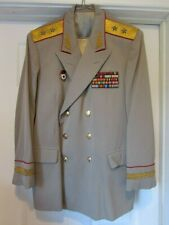 X-RARE Soviet Army Russia USSR  General-Leutenant PARADE UNIFORM Jacket!