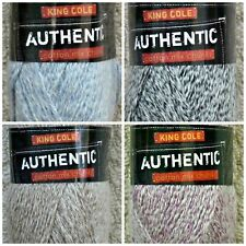 Chunky Knitting Wool 100g Authentic Chunky Cotton Mix Yarn King Cole