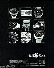 PUBLICITE ADVERTISING 026  2002  les montres Bell & Ross