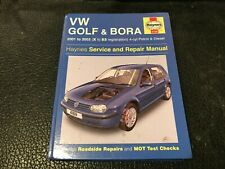 VW VOLKSWAGEN GOLF & BORA HAYNES MANUAL PETROL DIESEL + TURBO's 2001-2003 X-53