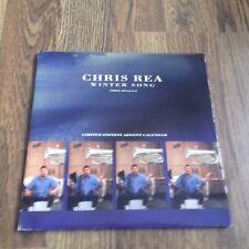 "CHRIS REA - WINTER SONG 7"" CALENDAR SLEEVE EAST WEST RECORDS 1991 EX"