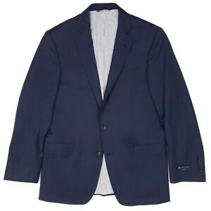 Brooks Brothers Blue Suit Jacket 38S Regent Fit Explorer Wool Blend 2 Button Man