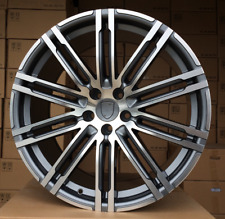 "4x 21 inch alloys wheels for Porsche Cayenne Panamera ET50 10J  5x130 21"" Rims"