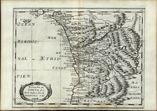 Congo West Africa Mataman African colonies scarce 1669 Sanson old antique map