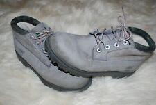 "Women's Timberland Waterproof Gray Nellie Nubuck 6"" Boots (7) 22373"