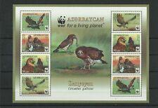 D 1645.Aserbaidschan 2011.Naturschutz Sclangenadler,Birds WWF MNH