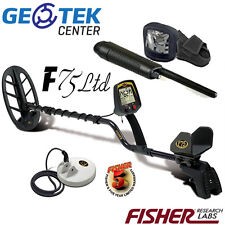 Metal Detector Fisher F75 LTD con 2 Piastre + Cover + Pinpointer Fisher