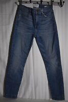$230 NWT Frame High rise skinny light blue stretch jeans witherwood size 24