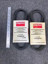 Lot of 2*** DAYTON Premium V Belt Model 4L550