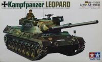 Tamiya 1:35 Kampfpanzer Leopard Motorized Plastic Model Kit #MT-125U