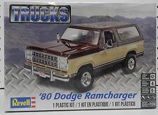 80 REVELL DODGE RAMCHARGER 1980 SUV BOYS GIRL MOPAR 4X4 TRUCK MODEL KIT