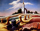 Thomas Hart Benton Missouri Landscape Canvas Print 16 x 20  #7754