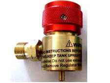 Jewelers Little Torch Regulator. Fits disposable Propane. Pre-set, Smith TYPE