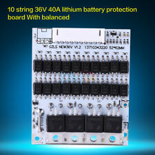 10s 36v 40A Battery Protection BMS PCB Board for LiFePo4 Cell batteries Hot im