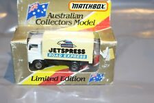 Matchbox Australian collectors model Limited Edition MB Jetspress road express