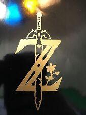 Legend of Zelda Breath of the Wild Logo Decal Sticker Car Window Truck Yeti