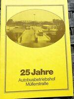 25 Ans Autobusbetriebshof Müllerstraße HN4 Å