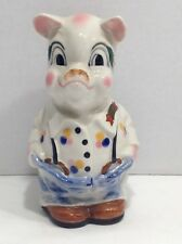 Ceramic Piggy Bank Pig Souvenir of Hopwell, VA.
