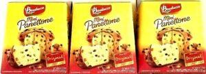 Bauducco Mini Panettone Original Specialty Cake Moist & Fresh 3.5 oz ( Pack of 3