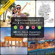 3Üfür2 2P München Hamburg Berlin Reiseschein Hotelgutschein Wellness Kurzurlaub