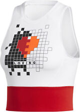 adidas | Own The Run Crop Damen Tanktop Laufshirt Sport Fitness Freizeit | NEU