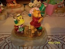 DISNEY RON LEE WINNIE THE POOH AND PIGLET WITH COOKIES FIGURE  LE 18/950