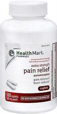 HM Extra Strength ACETAMINOPHEN (comp to Xtra Strength Tylenol) 500 caplets