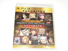 PS3 Favoritos Dead or Alive 5 Ultimate Sealed 2013 PlayStation 3