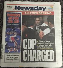 NY Newsday June 4,2014 Rangers Go For The Cup +20 Page Preview Of Stanley Cup