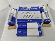 4 x Genuine Hyundai 18846-11070 Silzkr7B11 Iridium Spark Plugs for Hyundai Kia (Fits: Hyundai)