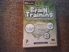 brain training the ultimate brain trainer advanced edition pc cd rom new sealed