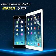 5x Ultra Clear LCD Screen Protector Film Cover Guard For Ipad 2/3/4