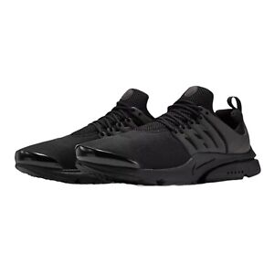 Nike Air Presto Size Large 11-12 Black Black Black 305919 009 Brand New