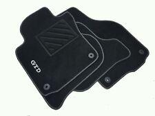 Tappetini VW Golf 5/6 serie fix ovali  1 ricamo GTD + clip + battitacco GTI R