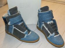 Maison Martin Margiela Paris Lowtop Damen Sneaker Schuhe Blue Denim  Größe 39